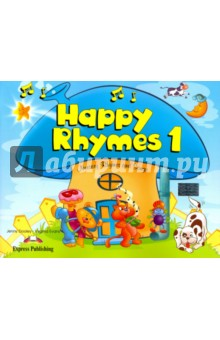 Happy Rhymes 1. Nursery Rhymes and Songs. Pupils Book. Книжка с рассказамиИзучение иностранного языка<br>Children s favourite nursery characters are brought to life in the Happy Rhymes series. Each nursery rhyme is preceded by a short narrative adaptation to help the children become familiar with the language and the topic of the rhyme. Children interact with the characters, sing the rhymes and play a great variety of games.<br>