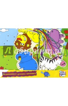 Развивающая игрушка-шнуровка Африка (66434)Шнуровки из дерева<br>Развивающая игрушка-шнуровка.<br>В наборе: деревянная доска, 4 фигурки, разноцветные шнурки.<br>Изготовлено из дерева, ламинированного бумагой с полимерной пленкой, с элементами из пластмассы и текстиля.<br>Рекомендуется для детей старше 3-х лет. Содержит мелкие детали.<br>Сделано в Китае.<br>