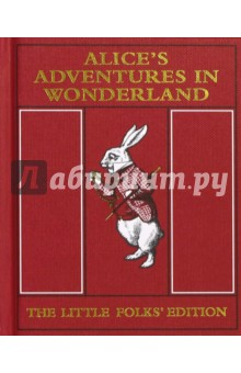 Alices Adventures in Wonderland. The Little Folks EditionЛитература на иностранном языке для детей<br>First published by Macmillan in 1907, Alice s Adventures in Wonderland: Little Folks Edition is a charming miniature edition of Lewis Carroll s classic tale which is specially abridged for younger readers. A sixth of the length of the original 1865 edition, it features 32 brightly coloured illustrations by Sir John Tenniel, uniquely featuring Alice in a red dress.<br>Faithfully reproduced from a rare archive copy, this unique little book retains all the charm of the historic original. With luxurious red Wibalin binding and gold sprayed edges, it is the perfect celebration of Alice s special anniversary; a wonderful gift for fans of every age and a must-have for every collector s bookshelf.<br>