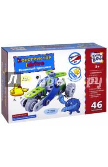 Конструктор Idrive Гоночный трицикл (46 элемента) (66468)Конструкторы из пластмассы и мягкого пластика<br>Idrive - это конструктор, который не оставит ребенка равнодушным. В набор входят гибкие пластиковые детали, с помощью которых ребенок может собрать различные красочные модели транспорта: автомобили, мотоциклы, вертолеты, самолеты и многое другое! В набор входят глазки-стикеры, которые оживят каждую собранную машинку, а гибкие детали позволят ребенку придумать и собрать свои собственные модели! Такой конструктор развивает воображение, мелкую моторику, пространственное и техническое мышление ребенка, оставляя большой простор для фантазии.<br>В комплекте: 43 детали, отвертка, ключ, стикеры, инструкция.<br>Изготовлено из пластмассы, бумаги и полимерной пленки.<br>Для детей старше 3-х лет. Содержит мелкие детали.<br>Сделано в Китае.<br>