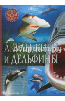Акулы, киты и дельфиныЖивотный и растительный мир<br>Представляем новую серию детских энциклопедий, которая точно понравится<br>вам и вашему ребёнку: небольшой удобный формат, краткая подача материала,<br>только самые важные факты и занимательные истории,<br>а также великолепные иллюстрации.<br>АКУЛЫ, КИТЫ И ДЕЛЬФИНЫ - это книга о самых больших и интересных<br>обитателях Мирового океана: грациозных акулах, огромных китах, весёлых<br>и дружелюбных дельфинах. На страницах нашей энциклопедии вы узнаете,<br>что акулы - это рыбы, а киты и дельфины - родственники, познакомитесь<br>с самой быстрой акулой - мако, самым большим животным на планете -<br>синим китом и самым опасным морским хищником - косаткой.<br>