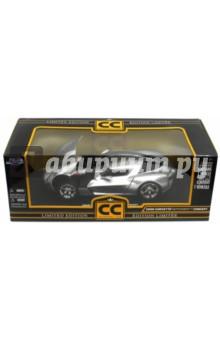 Модель автомобиля 2009 Corvette Stingray (96326S-Silver)Машины-игрушки<br>Машина.<br>Масштаб: 1:18<br>Состав: металл, элементы из пластмассы. <br>Для детей от 8-ми лет.<br>Не рекомендовано детям младше 3-х лет. Содержит мелкие детали. <br>Сделано в Китае.<br>