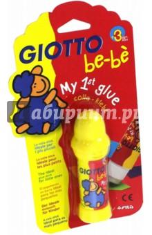 Клей карандаш Giotto Be-be Glue, блистер (466200)Клей-карандаш<br>Первый клей-карандаш для малыша.<br>Уникальная формула - безопасна и гипоалергенна для самых маленьких творцов.<br>Имеет аромат детского косметического бренда.<br>Отлично склеивает, не размазывается, удобен в использовании.<br>Объем: 20 гр.<br>Для детей от 3-х лет.<br>Сделано в Италии.<br>