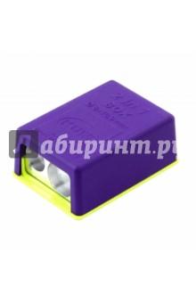 Точилка двойная с контейнером 2-in-1 Touch (3570421)Точилки<br>Точилка двойная с контейнером.<br>Материал: пластмасса. <br>Диаметр отверстий для карандашей: 8 и 10,9 мм.<br>Высота точилки: 17 мм.<br>Сделано в Германии.<br>