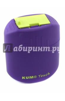 Точилка двойная с контейнером Oval  Touch (3570321)Точилки<br>Точилка двойная с контейнером.<br>Материал: пластмасса. <br>Диаметр отверстий для карандашей: 9 и 11 мм.<br>Высота точилки: 60 мм.<br>Сделано в Германии.<br>