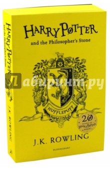 Harry Potter and the Philosophers Stone - Hufflepuff House EditionЛитература на английском языке<br>Exclusive Hufflepuff House Edition to celebrate the 20th anniversary of the first publication of Harry Potter and the Philosophers Stone - a highly collectable must-have for all Harry Potter fans!<br>Gryffindor, Slytherin, Hufflepuff, Ravenclaw … Twenty years ago these magical words and many more flowed from a young writers pen, an orphan called Harry Potter was freed from the cupboard under the stairs - and a global phenomenon started. Harry Potter and the Philosophers Stone has been read and loved by every new generation since. To mark the 20th anniversary of first publication, Bloomsbury is publishing four House Editions of J.K.Rowlings modern classic. These stunning editions will each feature the individual house crest on the jacket and sprayed edges in the house colours. Exciting new extra content will include fact files, profiles of favourite characters and line illustrations exclusive to that house. Available for a limited period only, these highly collectable editions will be a must-have for all Harry Potter fans in 2017.<br>