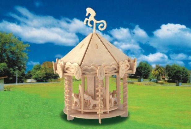 Иллюстрация 1 из 12 для Большая карусель (Р082)   Лабиринт - игрушки. Источник: Лабиринт