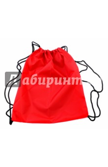 Сумка для обуви, красная (840368)Мешки для обуви<br>Сумка для обуви на тонких лямках. <br>Цвет: красный.<br>Состав: нейлон.<br>Сделано в России.<br>