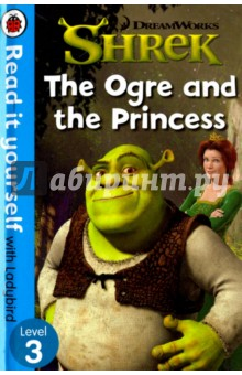 Shrek. The Ogre and the PrincessЛитература на иностранном языке для детей<br>Shrek wants Lord Farquaad to leave him alone. But what happens when the ogre meets the beautiful Princess Fiona?<br>For over thirty-five years, the best-selling Read it yourself with Ladybird has helped children learn to read.<br>All titles feature essential key words. Story-specific words are repeated to practise throughout.<br>Designed to be read independently at home or used in a guided reading session at school.<br>All titles include comprehension questions or puzzles, guidance notes and book band information for schools.<br>This Level 3 title is suitable for children who are developing reading confidence and are eager to start reading longer stories with a wider vocabulary.<br>