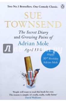 Secret Diary&amp;Growing Pains of Adrian Mole Ag.3 3/4Художественная литература на англ. языке<br>Double edition celebrating Adrian Mole s 50th Birthday. <br>Friday January 2nd<br>I felt rotten today. It s my mother s fault for singing  My Way  at two o clock in the morning at the top of the stairs. Just my luck to have a mother like her. There is a chance my parents could be alcoholics. Next year I could be in a children s home.<br>Meet Adrian Mole, a hapless teenager providing an unabashed, pimples-and-all glimpse into adolescent life. Telling us candidly about his parents  marital troubles, The Dog, his life as a tortured poet and  misunderstood intellectual , his love for the divine Pandora and his horror at learning of his mother s pregnancy, Adrian s painfully honest diary is a hilarious and heartfelt chronicle of misspent adolescence.<br>Features the complete texts of The Secret Diary of Adrian Mole Aged 13 and The Growing Pains of Adrian Mole.<br>