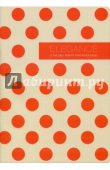 Тетрадь 40листов, Elegance (BD021)Тетради в клетку 32—48л. скрепка<br>Обложка: глянцевый прозрачный пластик; печать 5+0. <br>Переплет: скрепка. <br>Внутренний блок: высококаландрированная тонированная бумага, 70 г/м2. <br>Дизайн внутреннего блока в клетку.<br>Печать: офсет.<br>Углы тетради скруглены.<br>Количество листов: 40.<br>Формат: А5.<br>Сделано в Китае.<br>