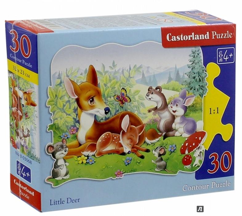 Иллюстрация 1 из 5 для Puzzle-30.MIDI. Бемби (В-03068) | Лабиринт - игрушки. Источник: Лабиринт