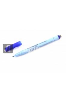 Маркер неперманентный Lumocolor F (0,6 мм, синий) (305F-3)Маркеры синие<br>Маркер неперманентный Lumocolor F<br>Пишущий узел: 0.6 мм.<br>Цвет: синий.<br>