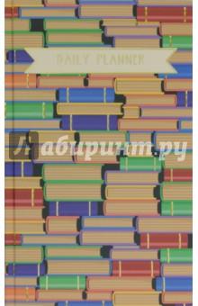 Ежедневник недатированный, 152 листа, Коллекция книг (ЕЖФ18515206)Ежедневники недатированные и полудатированные А5<br>Ежедневник недатированный, с ляссе.<br>Белый блок. Содержит справочную информацию и календарь на 2018-2021 годы.<br>Количество листов: 152, справочный материал - 12 страниц.<br>Крепление: сшитый блок.<br>Бумага офсетная.<br>Сделано в России.<br>