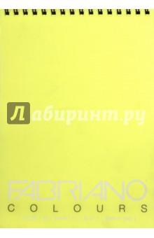 Блокнот 100 листов, А4 Writing Colors банан (42129701)Альбомы/папки для профессионального рисования<br>Альбом для графики на спирали Fabriano Writing Colors.<br>Размер:  21х29,7 см <br>Количество листов: 100.<br>Цвет бумаги: банан<br>Сделано в Италии<br>