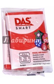 Полимерная паста, 57 грамм DAS SMART красный (321015)Лепим из пасты<br>DAS SMART. Полимерная паста для моделирования, 57 грамм, алый красный.<br>Для детей от 3 лет.<br>Сделано в Италии.<br>