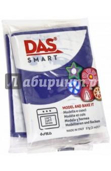Полимерная паста, 57 грамм DAS SMART синий (321024)Лепим из пасты<br>DAS SMART. Полимерная паста для моделирования, 57 грамм, темно-синий.<br>Для детей от 3 лет.<br>Сделано в Италии.<br>