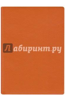 Ежедневник недатированный 160 листов, А6+, НАППА ОРАНЖЕВЫЙ (45270)Ежедневники недатированные и полудатированные А6<br>Ежедневник недатированный, формат А6, 320 страниц, ляссе.<br>Материал: бумага офсетная, картон переплетный, полиуретан.<br>Сделано в Китае.<br>