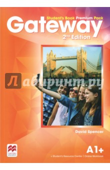 Gateway A1+. Students Book Premium PackАнглийский язык<br>The Student s Book Premium Pack contains the print Student s Book with a strong exams focus and exams task familiarisation throughout the Student s Book. Access code to the Online Workbook and the Student s Resource Centre which includes the Class audio, Workbook audio, Life skills and Flipped classroom videos and a downloadable Macmillan Reader.<br>
