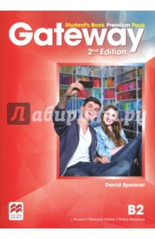 Gateway B2. Students Book Premium PackАнглийский язык<br>The Student s Book Premium Pack contains the print Student s Book with a strong exams focus and exams task familiarisation throughout the Student s Book. Access code to the Online Workbook and the Student s Resource Centre which includes the Class audio, Workbook audio, Life skills and Flipped classroom videos and a downloadable Macmillan Reader.<br>