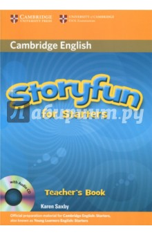 Storyfun for Starters Teachers Book with Audio CDИзучение иностранного языка<br>Enjoyable story-based practice for the Cambridge Young Learners English (YLE) Tests. Storyfun for Starters Teacher s Book includes an Audio CD with recordings of the stories and listening activities from the Student s Book. Teachers can use the stories to capture learners  imagination. Stories are exploited to present YLE tasks in a motivating and easy-to-use way. Each story unit provides enough material to cover between 90-180 minutes class time. Enjoyable activities including games, projects and poems are balanced with exam-style questions to make learning fun. Teaching tips and photocopiable activities are included and teachers can be confident the test preparation provides coverage of key areas of Cambridge Young Learners English grammar and vocabulary.<br>