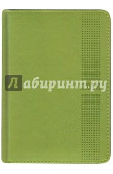 Ежедневник датированный на 2018 год САРИФ САЛАТОВЫЙ, (45239)Ежедневники датированные А6<br>Ежедневник датированный.<br>Количество страниц: 352.<br>Размер А6<br>Товар предназначен для записей.<br>Материал: бумага офсетная, картон переплетный, полиуретан<br>Сделано в Китае<br>