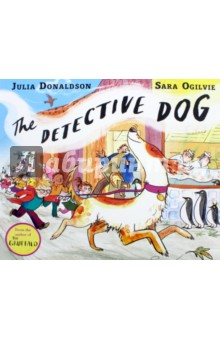 The Detective DogЛитература на иностранном языке для детей<br>There once was a dog with a keen sense of smell. She was known far and wide as Detective Dog Nell. Peter s dog Nell has an amazing sense of smell. Whether it s finding a lost shoe or discovering who did a poo on the new gravel path, her ever-sniffing nose is always hard at work. But Nell has other talents too. Every Monday she goes to school with Peter and listens to children read. So who better to have on hand when they arrive one morning to discover that the school s books have all disappeared! Who could have taken them? And why? There s only one dog for the job... and Detective Dog Nell is ready to sniff out the culprit! Written by the brilliant Julia Donaldson and stunningly illustrated by the multi-talented illustrator and printmaker Sara Ogilvie, The Detective Dog is a fast-paced celebration of books, reading, libraries, and the relationship between a little boy and his rather special dog.<br>