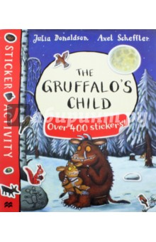 The Gruffalos Child. Sticker BookЛитература на иностранном языке для детей<br>Join all your favourite characters from the deep dark wood in this must-have sticker book based on the bestselling picture book The Gruffalo s Child by Julia Donaldson and Axel Scheffler. Packed with games, activities and over four hundred stickers, The Gruffalo s Child Sticker Book is perfect for birthdays, rainy days and school holidays - a great gift for any child. Look out for: The Gruffalo Sticker Book!<br>