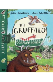 The GruffaloЛитература на иностранном языке для детей<br>Join all your favourite characters from the deep dark wood in this must-have sticker book based on the bestselling picture book The Gruffalo by Julia Donaldson and Axel Scheffler. Packed with games, activities and over four hundred stickers, The Gruffalo Sticker Book is perfect for birthdays, rainy days and school holidays - a great gift for any child. Look out for: The Gruffalo s Child Sticker Book!<br>