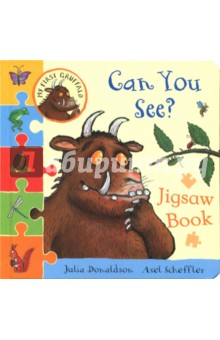 My First Gruffalo. Can You See? Jigsaw bookЛитература на иностранном языке для детей<br>Learn all about colours with the Gruffalo and friends through five fantastic four-piece puzzles in My First Gruffalo: Can You See? Jigsaw Book. This chunky board book is perfect for small paws, and young Gruffalo fans will love discovering a favourite character on every spread! For extra fun, there s something colourful to spot in every jigsaw once it s assembled. An exciting new My First Gruffalo jigsaw series from the best-selling Julia Donaldson and Axel Scheffler.<br>
