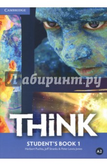 Think. Level 1. Students BookАнглийский язык<br>Challenge and inspire your teenage learners to think beyond language. Think is a fresh, vibrant and upbeat course designed to engage teenage learners and make them think. As well as building students  language skills, it offers a holistic approach to learning: developing their thinking skills, encouraging them to reflect on values and building their self-confidence. Topics are chosen to appeal to and challenge teenagers, firing their imagination and ensuring effective learning. Exam-style exercises and tips help students prepare for Cambridge English Key, Preliminary and First. Informed by the Cambridge English Corpus, the course reflects real language usage and  Get it right  sections help students avoid common mistakes.<br>