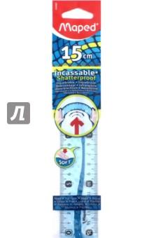 Линейка ударопрочная Flex (15 см) (244060)Линейки<br>Линейка ударопрочная.<br>Длина: 15 см.<br>Цвет: голубой.<br>Сделано в Китае.<br>