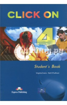 Click On 4. Students BookАнглийский язык<br>Click on 4 is a modular secondary-level course for learners of the English language. The series combines active English learning with a variety of lively topics presented in themed units. <br>Key Features: <br>- theme-based units from a wide variety of sources in five modules. <br>- a variety of cross-cultural topics. <br>- systematic development of all four language skills through realistic challenging tasks which encourage the learner s personal engagement. <br>- lexical exercises practising and activating all essential vocabulary including collocations, idioms, phrasal verbs and word formation. <br>- a variety of authentic stimulating reading and listening tasks. <br>- realistic, stimulating dialogues featuring people in everyday situations. <br>- grammar sections covering all major grammatical areas plus a Grammar Reference Section. <br>- composition analysis and practice on all types of writing with full models. <br>- a wide range of speaking activities. <br>- intonation &amp;amp; pronunciation sections. <br>- Culture Clips. <br>- Literature pages.<br>