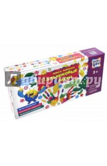 Пальчиковые краски (12 х 25 мл) (67857)Краски для рисования пальцами<br>Пальчиковые краски для детского творчества.<br>Развиваем мелкую моторику<br>Изучаем цвета<br>Стимулируем воображение<br>В комплекте: 2 контейнера по 6 отделений с красками.<br>Для детей старше 3-х лет. Содержит мелкие детали.<br>Сделано в Турции.<br>
