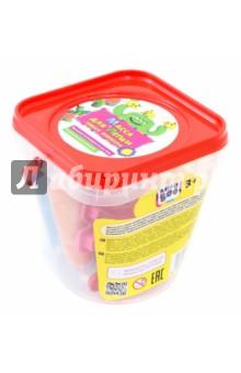 Масса для лепки в ведерке с формочками (6 цветов) (67855)Наборы для лепки с игровыми элементами<br>Массу для лепки можно использовать много раз при хранении в закрытом виде. А можно оставить сохнуть на воздухе, и через 3-4 часа получить готовую затвердевшую поделку. Подсыхающей массе можно вернуть прежнюю пластичность, смочив слегка водой.<br>Развиваем мелкую моторику.<br>Изучаем цвета.<br>Стимулируем воображение.<br>В комплекте: закрывающееся пластиковое ведерко, 6 туб с массой для лепки, 4 формочки.<br>Для детей старше 3-х лет. Содержит мелкие детали.<br>Сделано в Турции.<br>