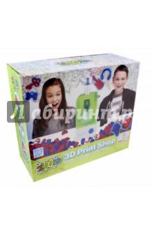 ЗD пресс-машина Вертикаль (164030)Другие виды творчества<br>Набор 3D Пресс-машина Вертикаль позволит изготавливать копии 3D объектов! Можно делать изделия, использую формочки или штампы из набора, а можно делать собственные 3D объекты! Для создания собственного изделия просто возьмите любой твердый объект, который помещается в формочку и сделайте объемный оттиск. Уникальная технология Формулы 4D позволяет без труда делать оттиски любых 3D объектов: <br>1. Полимер Формула 4D размягчается в теплой воде и затвердевает по мере остывания, сохраняя форму выбранного вами объекта. <br>2. При помощи Пресс-машины, формочка заполняется жидкой пастой из картриджа. <br>3. Под воздействием специального света жидкая паста затвердевает и вы получаете готовую копию 3D объекта! <br>Благодаря инновационным технологиям Пресс-Машина удобна и безопасна: она не имеет проводов и работает без нагрева, что исключает возможность ожога. <br>После использования всей пасты из картриджа, его можно заменить на новый (продается отдельно, цвета в ассортименте).<br>В наборе: 3D пресс-машина, держатель для формочки, формочка для изготовление изделий, 3 готовые формочки, 18 пластин с рельефным штампом, картриджа (красный и синий), 1 моток полимера Формула 4D, инструкция.<br>Для детей от 8-ми лет.<br>Не рекомендуется детям до 3-х лет. Содержит мелкие детали.<br>Сделано в Китае.<br>