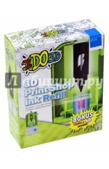 Картридж для 3D Пресс-машины Вертикаль, синий (164085)Сопутствующие товары для детского творчества<br>Сменный картридж для 3D Пресс-машины Вертикаль.<br>Будет хорошим дополнением к набору 3D Пресс-машины Вертикаль.<br>Комбинируйте картриджи разного цвета, чтобы создать многоцветный объёмный рисунок или поделку. После использования всей пасты из картриджа, его можно заменить на новый (продается отдельно, цвета в ассортименте).<br>Цвет: синий.<br>В наборе: картридж, полимер формулы 4D для изготовления собственных изделий.<br>Для детей от 8-ми лет.<br>Не рекомендуется детям до 3-х лет. Содержит мелкие детали.<br>Сделано в Китае.<br>