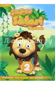Super Safari 2 Big BookИзучение иностранного языка<br>Using the stories from the Pupils Books, the Super Safari Big Books, are a wonderful way for the Teacher to further develop a sense of class community through a shared reading experience. The stories are reproduced in large format and come with a suggested script and teaching tips for the Teacher. They are an excellent way for very young learners to start developing a love of reading.<br>