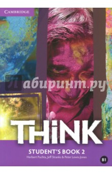 Think British English. Students Book 2Изучение иностранного языка<br>Challenge and inspire your teenage learners to think beyond language. Think is a fresh, vibrant and upbeat course designed to engage teenage learners and make them think. As well as building students language skills, it offers a holistic approach to learning: developing their thinking skills, encouraging them to reflect on values and building their self-confidence. Topics are chosen to appeal to and challenge teenagers, firing their imagination and ensuring effective learning. Exam-style exercises and tips help students prepare for Cambridge English Key, Preliminary and First. Informed by the Cambridge English Corpus, the course reflects real language usage and Get it right sections help students avoid common mistakes.<br>