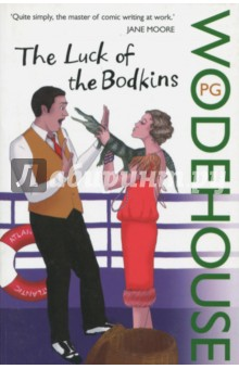 The Luck of the BodkinsХудожественная литература на англ. языке<br>A P.G. Wodehouse novel Seize this wonderful chance to embark on a Wodehousian voyage on the luxurious liner S.S. Atlantic - in the company of Monty Bodkin, whose passion for Gertrude Butterwick knows no bounds (except those set by the wild-at-heart Hollywood starlet Lotus Blossom and her pet alligator). Also aboard are a movie mogul, the centre-forward for the All-England ladies hockey team and the two Tennyson brothers (one of whom has been mistaken for the late poet laureate and given a fat movie contract...). Also a chatty steward, and a mouse doll in which all manner of things can be hidden. This hilarious comic novel is Wodehouse at full sail - a voyage of pure delight.<br>