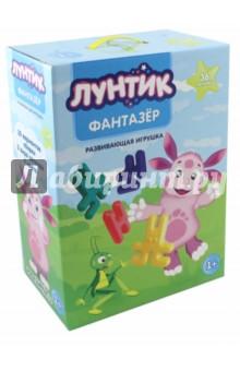 Набор развивающий Лунтик-Фантазер (15036)Другие игрушки для малышей<br>Развивайте фантазию, изучайте цвета и играйте одновременно!<br>В наборе 36 деталей.<br>Состав: пластмасса.<br>Для детей от 1-го года.<br>Сделано в России.<br>