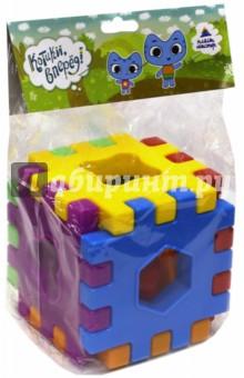 Куб волшебный (15022)Другие игрушки для малышей<br>Предназначено для игр.<br>В комплект входит: решетка 6 шт., вставка фигурная 6 шт.<br>Состав: пластмасса.<br>Для детей от 3-х лет.<br>Сделано в России.<br>