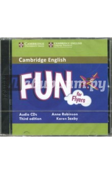 Fun for Flyers (CD)Аудиокурсы. Английский язык<br>Fun for Flyers. Audio CD.<br>3rd Edition.<br>