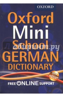Oxford Mini School German DictionaryСловари для школьников<br>The Oxford Mini School German Dictionary is the perfect bilingual dictionary for pupils learning German. The two sides of the dictionary are clearly divided into German-English and English-German, with an essential verb table list in the centre with essential English translations for the different tenses. The headwords are carefully selected to suit beginners, and particular attention is given to computing, word-processing, and ICT terms. In line with curriculum requirements, there is a special section dedicated to vocabulary and phrases on German life and culture. The simple layout, the alphabet down the side of each page, and the clear print will help pupils navigate around the dictionary and take them straight to the translation they are looking for. This dictionary comes in a handy mini-size format with a new eco-friendly binding, perfect for school bags and for taking on holiday. For downloadable fun activities in German, go online to the www.oxforddictinaries.com website.<br>