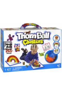 Конструктор-липучка ThornBall Clusters (265+ элементов, 8 цветов) (5510/WZ-A4865)Конструкторы из пластмассы и мягкого пластика<br>Конструктор-липучка.<br>265+ элементов: синие, зеленые, фиолетовые, желтые, оранжевые, красные, белые, черные, 36 дополнительных деталей.<br>Материал: пластмасса.<br>Не рекомендуется детям до 3 лет.<br>Сделано в Китае.<br>