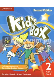 Kids Box Level 2 Pupils BookИзучение иностранного языка<br>Second edition of this popular course for young learners - now seven levels including Starter. Perfect preparation for Cambridge English Young Learners: Starters. Well-loved by children and teachers the world over, Kid s Box is bursting with bright ideas to inspire you and your pupils. Perfect for general use, the course also fully covers the syllabus of the Cambridge Young Learners English (YLE) tests, preparing your students for success at Starters, Movers and Flyers. The Pupil s Book presents and practises new language through entertaining stories and fantastic songs and activities, making the learning process a joy. YLE-type tests in Levels 2, 4 and 6 assess progress, and familiarise children with the exam format.<br>