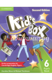 Kids Box 2ed 6 PBИзучение иностранного языка<br>Second edition of this popular course for young learners - now seven levels including Starter. Perfect preparation for Cambridge English Young Learners: Flyers with Level 6. Well-loved by children and teachers the world over, Kid s Box Second edition is bursting with bright ideas to inspire you and your pupils. Perfect for general use, the course also fully covers the syllabus of the Cambridge Young Learners English (YLE) tests, preparing your students for success at Starters, Movers and Flyers. The Pupil s Book 6 presents and practises new language through entertaining stories and fantastic songs and activities, making the learning process a joy. Flyers-type tests in Level 6 assess progress, and familiarise children with the exam format.<br>