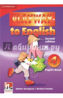 Playway to English. Level 4. Pupils BookИзучение иностранного языка<br>Playway to English Second edition is a new version of the popular four-level course for teaching English to young children. Pupils acquire English through play, music and Total Physical Response, providing them with a fun and dynamic language learning experience. In the Pupil s Book: * Fantastic varied tasks keep children motivated * Cross-curricular activities take children s learning beyond the English language classroom * Self evaluation sections help children retain and recycle new language * Regular Word play sections encourage pupils to use the target language creatively.<br>