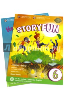 Storyfun for Starters,Mov.and Flyers2Ed Flyers2 SBИзучение иностранного языка<br>Enjoyable and engaging practice for the revised 2018 Cambridge English: Young Learners (YLE). <br>Storyfun Level 6 Student s Book provides full-colour preparation material for Cambridge English: Flyers. It contains eight fully-illustrated stories with accompanying activities for students to enjoy. These include songs and exam-style questions that practise the grammar, vocabulary and skills needed at each level. Extra speaking practice and projects provide opportunities for extension beyond the units. The Student s Book now comes with a Home Fun Booklet which provides activities for students to complete at home, and allows parents to support learning. Fun Online Activities in the Cambridge Learning Management System (CLMS) are accessed via a code in the front of the book.<br>