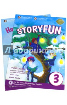 Storyfun for Starters,Mov.and Flyers2Ed Movers1 SBИзучение иностранного языка<br>Enjoyable and engaging practice for the revised 2018 Cambridge English: Young Learners (YLE). <br><br>Storyfun Level 3 Students Book provides full-colour preparation material for Cambridge English: Movers. It contains eight fully-illustrated stories with accompanying activities for students to enjoy. These include songs and exam-style questions that practise the grammar, vocabulary and skills needed at each level. Extra speaking practice and projects provide opportunities for extension beyond the units. The Students Book now comes with a Home Fun Booklet which provides activities for students to complete at home, and allows parents to support learning. Fun Online Activities in the Cambridge Learning Management System (CLMS) are accessed via a code in the front of the book.<br>